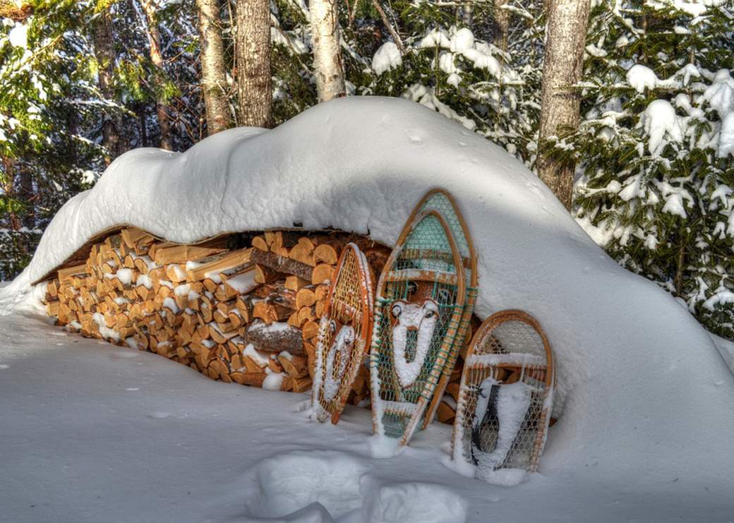Wood-Snowshoes-Winter-Snow-754796