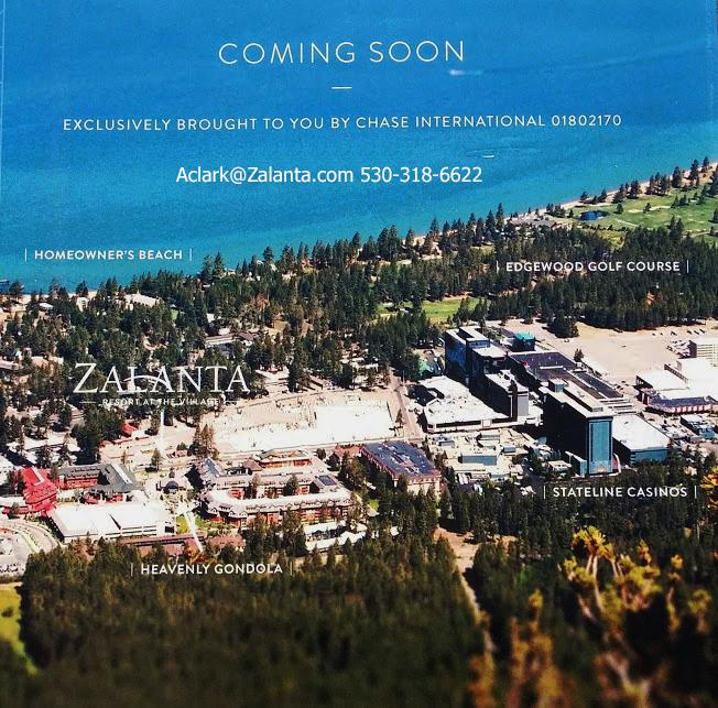 Zalanta Resort Lake Tahoe